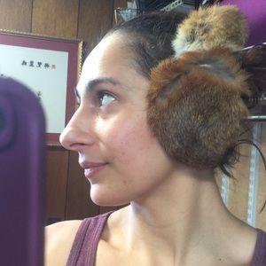 Accessories - Genuine rabbit for earmuffs